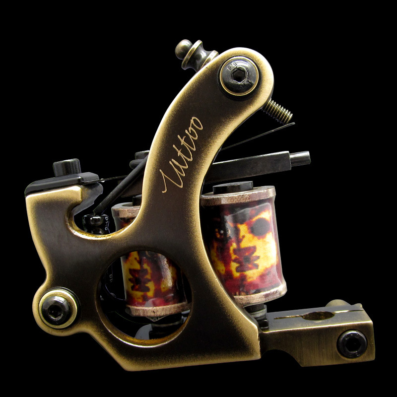 High Quality Tattoo Coil Machine 10 Wraps